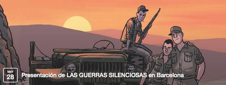 Presentación en FNAC de Las guerras silenciosas