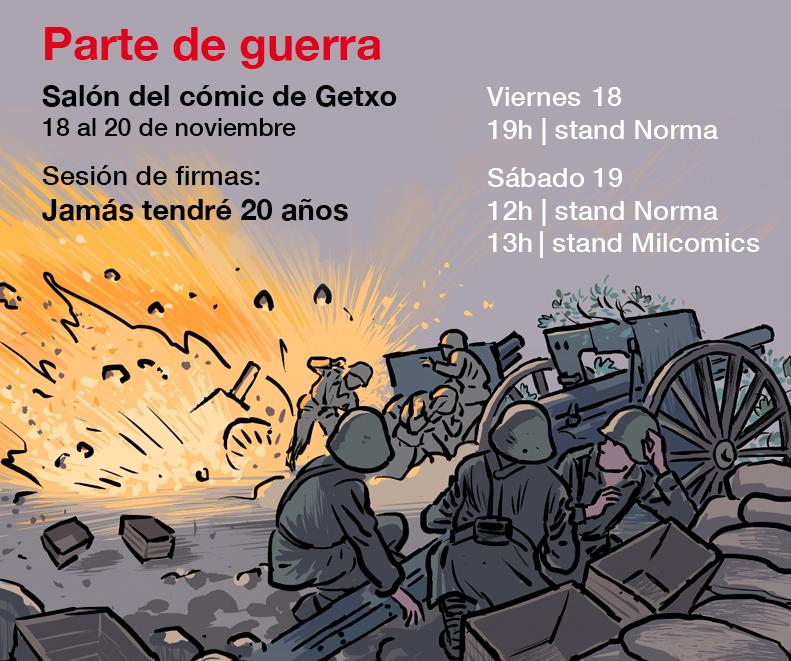 Parte de guerra #1: Salón del cómic de Getxo